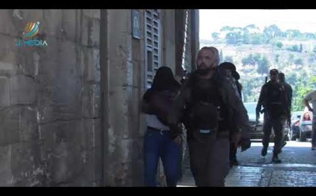جانب من اقتحامات المستـوطـنين اليوم في مدينة القدس